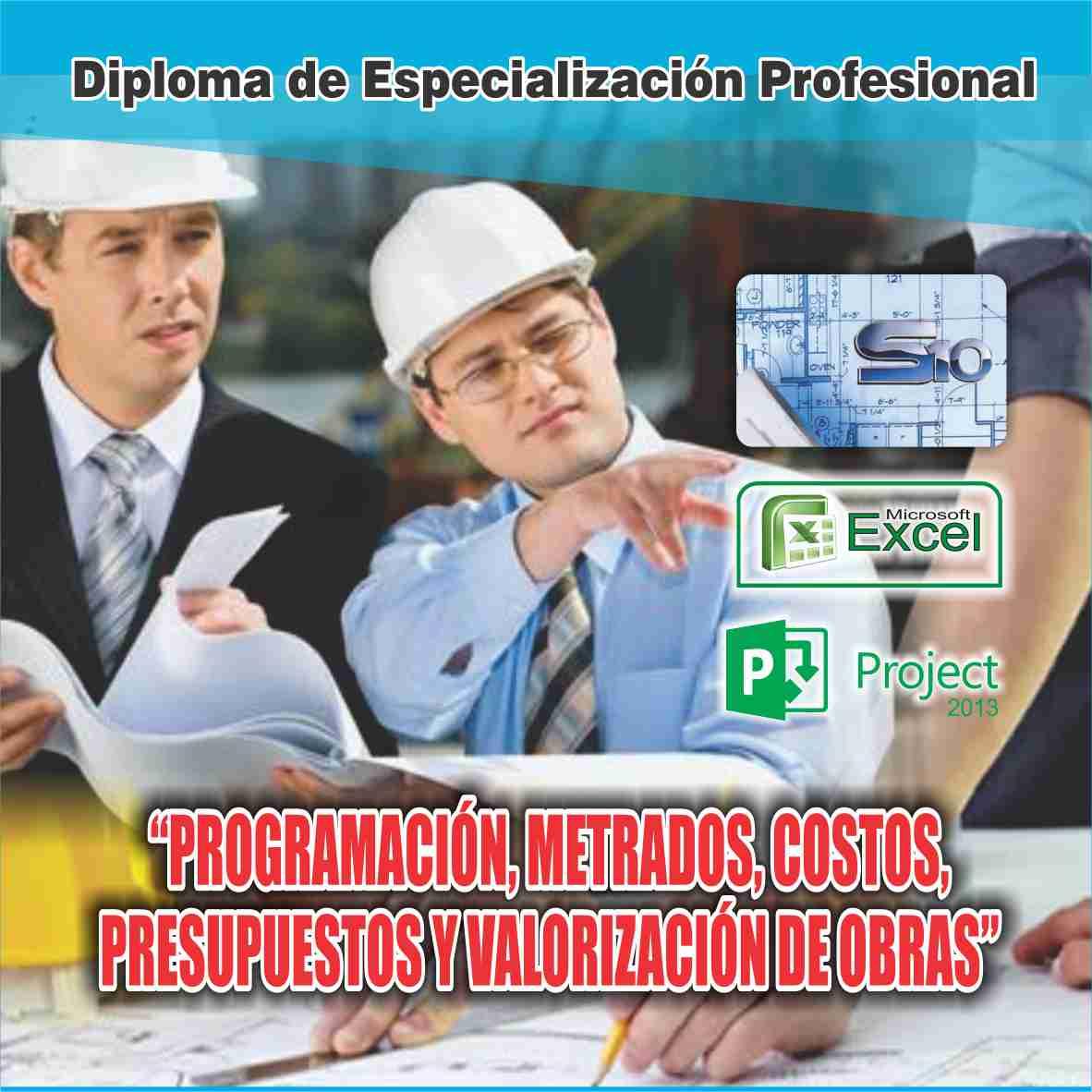 Cacp per diploma de especializaci n profesional - Presupuestos de obras ...
